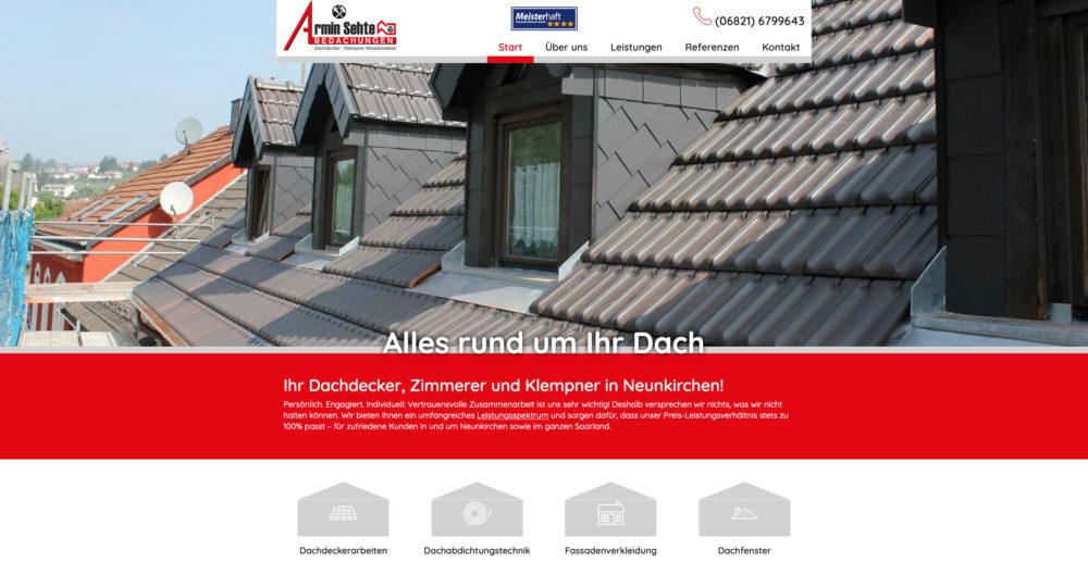 Referenz Dachdecker Armin Sehte