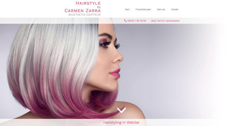 Referenz Hairstyle by Carmen Zarra