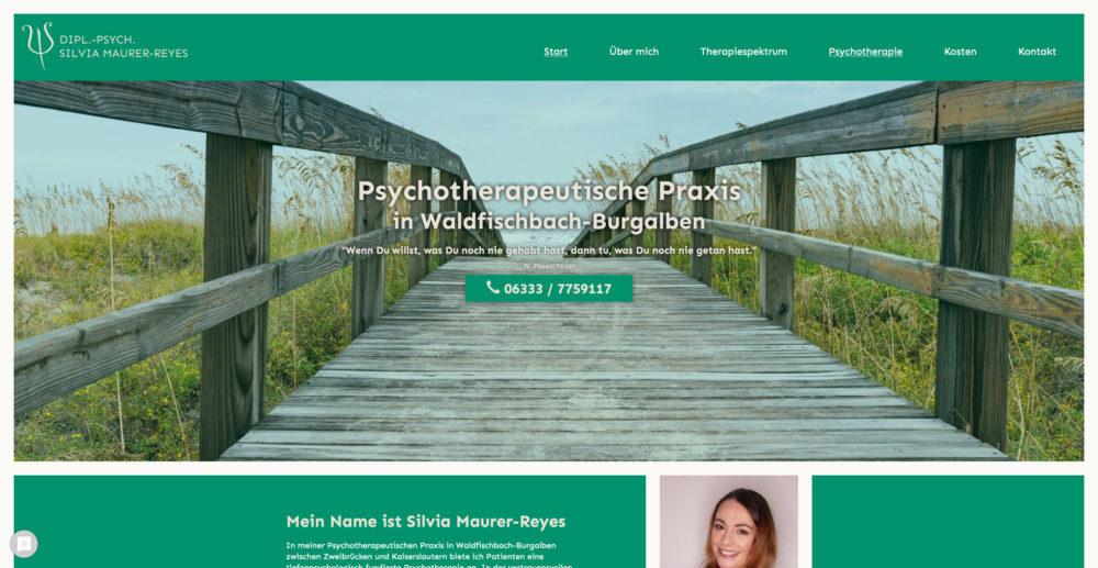 Referenz Psychotherapie Maurer Reyes