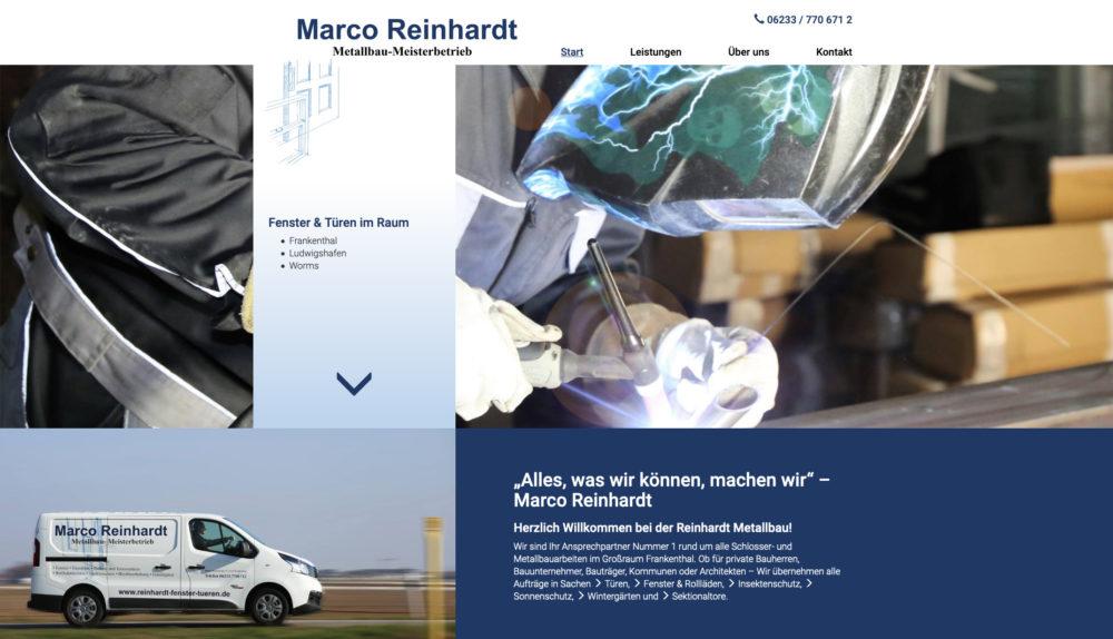 Referenz Reinhardt Metallbau