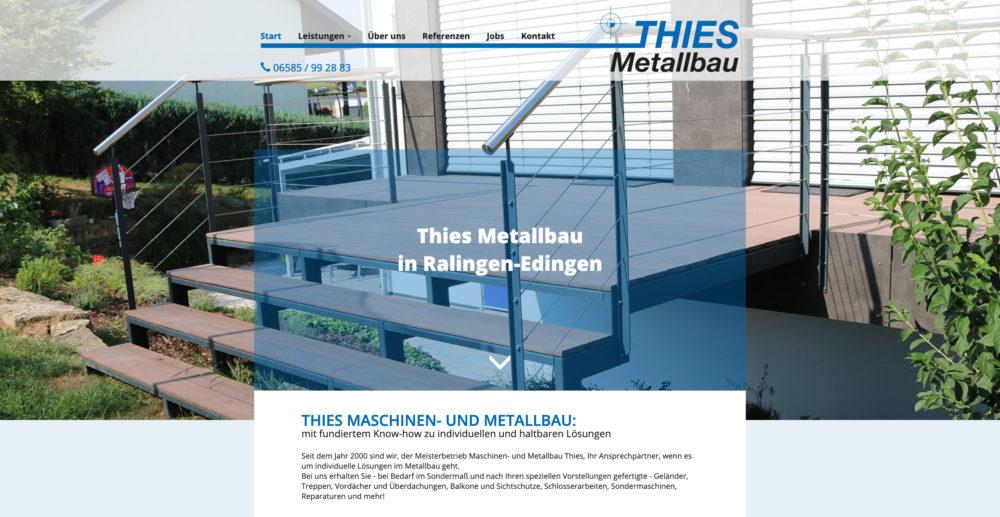 Referenz Thies Metallbau